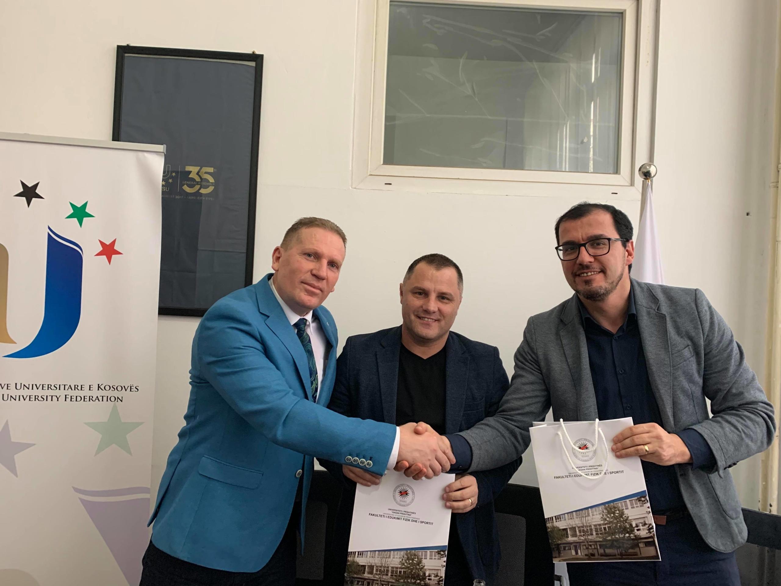 FSUNK-ja lidh memorandum të bashkëpunimit me Shoqatën e Gazetarëve Sportiv të Kosovës